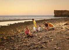 Dusk at Pokeshaw Beach | Acadian Coast, New Brunswick | #ExploreNB