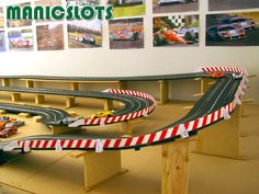 ManicSlots' slot cars and scenery: HOW-TO: Slot Car Scenery