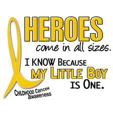 Chris, my son, is amazing along with all the other little ones out there fighting cancer.