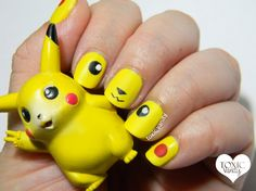 Manicura de Pikachu | Digit-Al Dozen Does It Again! Geek | Toxic Vanity