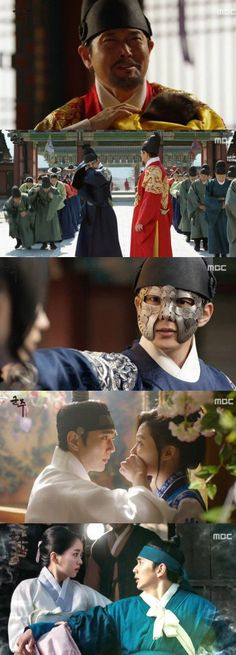 [Spoiler] Added episodes 1 and 2 captures for the #kdrama 'Ruler: Master of the Mask'