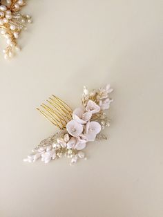 A personal favorite from my Etsy shop https://www.etsy.com/listing/254554372/urvashi-bridal-hair-comb-pearl-hair-comb