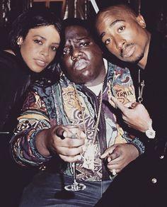 Aaliyah, Notorious B. I. G. & 2PAC (RIP)