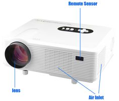 Cheap led projector hdmi, Buy Quality projector hdmi directly from China led projector Suppliers: Hot sale! Hot sale Projector 3000 Lumens HD Home Theater Native Support Led Projector HDMI / VGA/ USB/ AV /ATV Led Projector, Cinema, Dtv, Home Theater Projectors, Digital Tv, Business Education, Aliexpress, Multimedia, Electronics