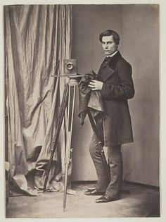 The Photographer (c. 1850's); Artist unknown
