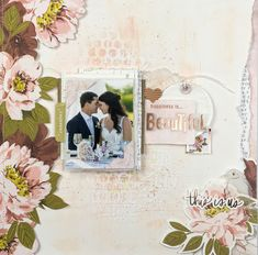 """Documenting your perfect day deserves a beautiful collection! Add some fresh and fun color to your crafting with the gorgeous """"Honey and Spice"""" collection from Heidi Swapp. Scrapbook Page Layouts, Scrapbook Pages, Proud Mom Quotes, Cousin Quotes, Little Brother Quotes, Mixed Media Scrapbooking, Scrapbooking Ideas, Image Layout, Heidi Swapp"""