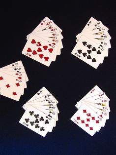 Euchre In this tutorial, I will be describing how to play the card game of euchre. Euchre is a great game to play at family functions, on bus trips, or any time you are looking for a fun card game to play. I have been playing euchre for about ten years. Family Card Games, Fun Card Games, Card Games For Kids, Playing Card Games, Partner Cards, Addition Games, Wood Games, Time Games, Family Game Night