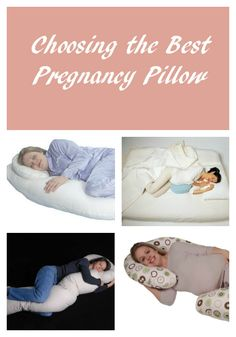 Choosing the best pregnancy pillow to help you get a good night sleep. Read more at OurFamilyWorld.com