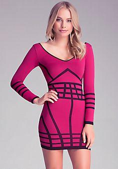 Avery Jacquard Dress