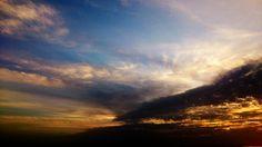Sunset on a roadtrip