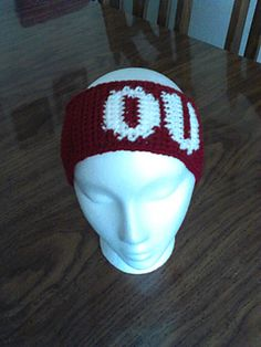 OU team spirit ear warmer