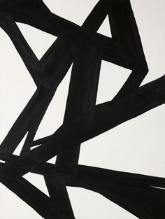 Black & White Abstract Painting 2 | Natural Curiosities