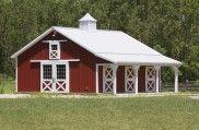 Iris's Horse Barn » Morton Buildings » 4060