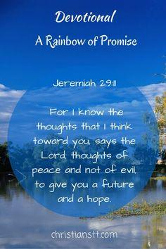 Devotional - A Rainbow of Promise