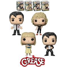 Funko POP! Movies Grease 40th Anniversary Bundle (4 POPs) - New, Mint Condition. https://www.supportivepc.com/funko-pop-movies-grease-40th-anniversary-bundle-4 #Funko #FunkoPop #Grease #Collectibles
