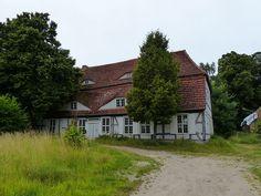 Herrenhaus Lüskow in Mecklenburg-Vorpommern (Familie von Lüskow, Familie von Schwerin)