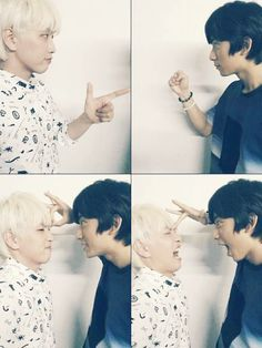 Sandeul and gongchan