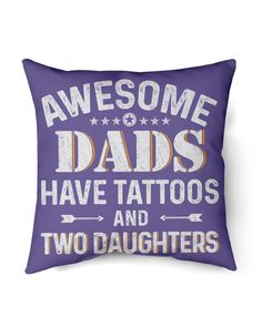Awesome Dads Have Tattoos And Two Daughters - Purple cat tattoo, geometric tattoos, mandala tattoos #tattooflash #inkedandsexy #traditionaltattooing, dried orange slices, yule decorations, scandinavian christmas Two Daughters, Sons, Farmer Tattoo, Grandparents Tattoo, Harry Potter Tattoos, Purple Cat, Mermaid Tattoos, Yule Decorations, Orange Slices