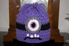 Crochet BABY purple Despicable Me evil minion e questo è l'altro che piace a fulvio