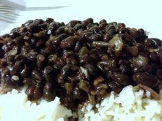 arroz con frijoles