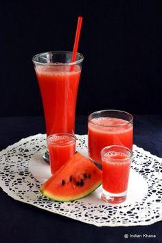 Watermelon Juice Recipe   Summer Drinks Recipes