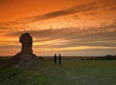Burgh Castle, nr Great Yarmouth, Norfolk