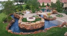 Lazy River Pool On Home Ideas 14