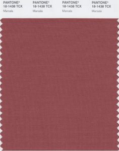 Pantone's Color of the Year for 2015--Marsala, I love and adore this color! What a beautiful color to incorporate in any decor...I would love this mixed with gold, ivory, or any metallic!