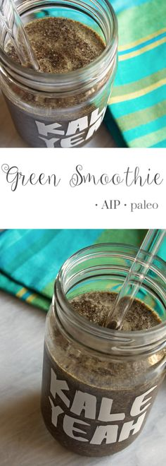 This green smoothie is a great source of minerals, vitamins, sulfur, & antioxidants.