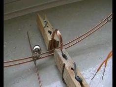 ▶ Ball magnet on copper rail - YouTube