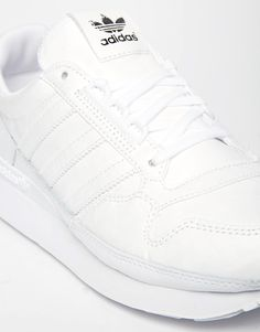 best sneakers bc854 300a7 adidas Originals ZX 500 OG Retro White Trainers at asos.com