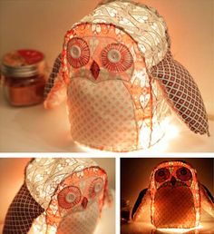 DIY: Owl Lamp