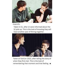 Gagagagagaha! Jensen looks at people like he is n love with them.