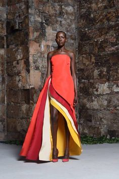 This outfit involves movement, the  designer used different techniques to to get…