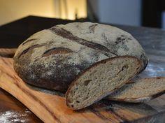 לחם בירה וכוסמין מלא - טבעוני, 4 מרכיבים בלבד