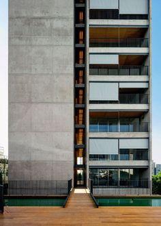 UNA Arquitetos projeta Huma Klabin, edifício residencial de relação franca com a urbe, em São Paulo :: aU - Arquitetura e Urbanismo