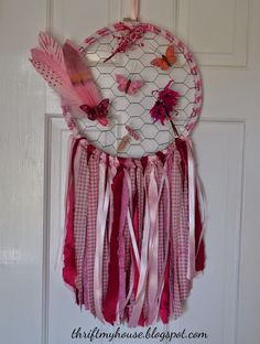 Think Pink Monday: Sherry from Thrift My House - Thrifty Rebel Vintage