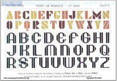 Dillmont, Th. de, ed. D.M.C. Point de Marque [5] 5me Serié, Mulhouse, Dollfus Mieg & Cie (first pub c.1920). Art deco. Page 5