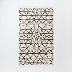 $139 - West Elm - 3x5 - Torres Wool Kilim - Iron | West Elm