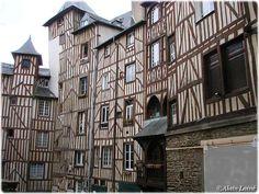 Maisons à colombages, 7 rue Le Bastard, Rennes