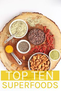 What is a superfood and how do you use it? Check out My Darling Vegan's Top 10 Superfoods to find out all the benefits of some of the best foods and how to fit them into your daily diet. #mydarlingvegan #superfoods #veganresources #vegan101 #veganism Good Healthy Recipes, Delicious Vegan Recipes, Whole Food Recipes, Healthy Food, Healthy Eating, Foods For Anxiety, Top 10 Superfoods, Vegan Staples, Superfood Recipes