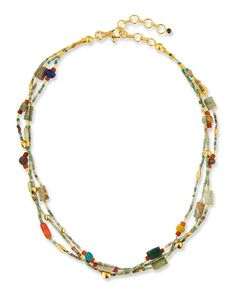 Gurhan 24k Pearl & Lapis Single-Strand Necklace