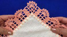 Crochet Flower Squares, Crochet Boarders, Crochet Flowers, Crochet Lace, Crochet Patterns, Crochet Potholders, Crochet Videos, Chrochet, Learn To Crochet