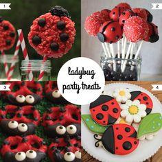 Ladybug Party Treats #ladybugparty #ladybugtreats #ladybug