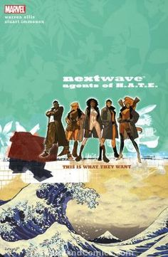 #NowReading Nextwave - Agents of H.A.T.E. for the umpteenth time.  This is seriously one of the most hilariously entertaining graphic novels I have ever read.  Check it out...I wouldn't steer you wrong!