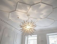 geometric plaster ceiling pattern - Google Search