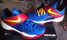 Spotlight // Nike Zoom KD IV iD - Superman!