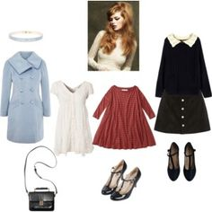 60s nymphet fall outfits #1