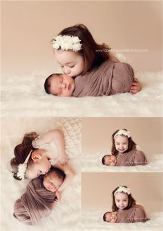 9 Newborn and big sibling photography