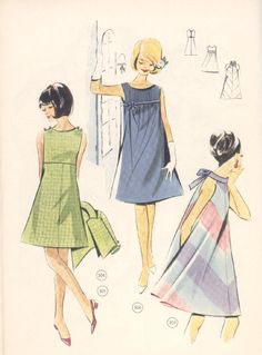#ClippedOnIssuu from Vintage Lutterloh Sewing Patterns 106 autumn 1967